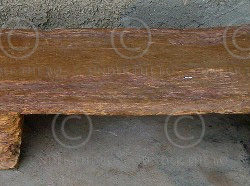 African Bench A3. Mossi tribe. Burkina Fasso.