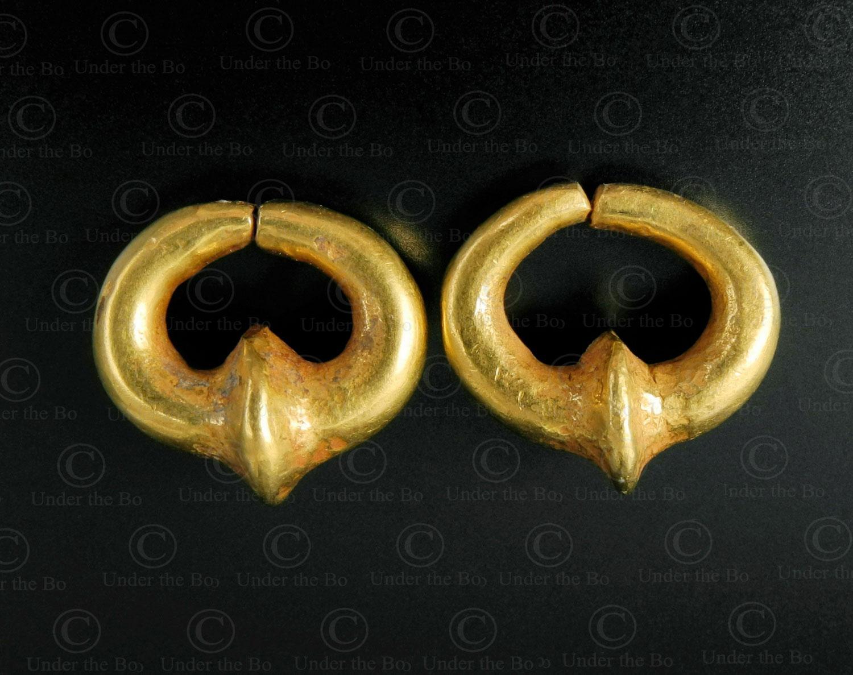 Afghan-gold-earrings-Gandhara-E152