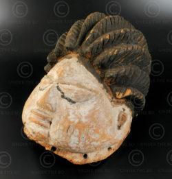 Igbo culture helmet AF116. Nigeria.