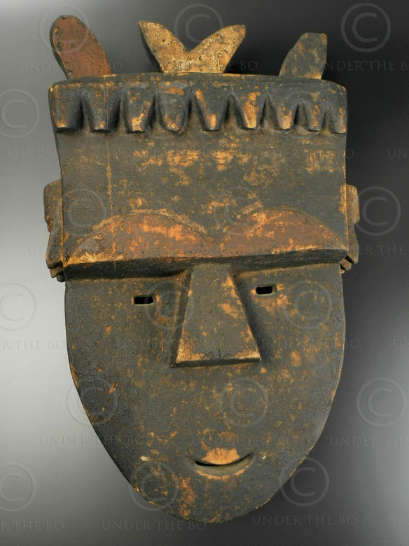 Toma mask AF156. Toma culture, Guinea.