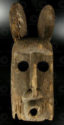 Dogon mask T27B. Dogon culture, Mali.