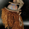 Yaka mask AF36A. Yaka culture, Angola-Congo (DRC)