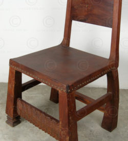 Afro chairs FV6. African Chokwe style.