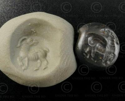 Ancient Scythian seal 13SH2D2. Found in the Nimruz province of Afghanistan.