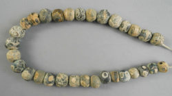 Antique Roman eye glass beads BD283. Sourced in Mali in the early 1980s, West Af