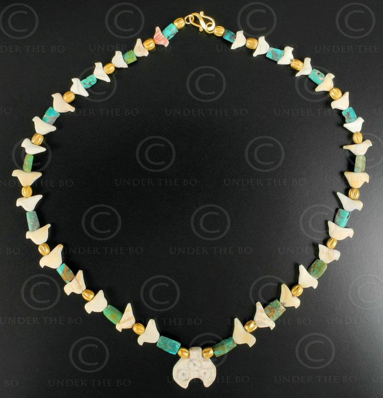 Archaeological necklace 638. Designed by François Villaret.