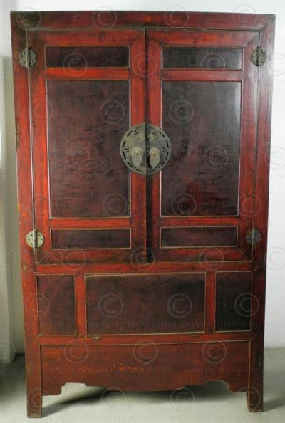 Armoire de mariage CH34A. Sichuan, Chine.