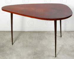 Art Deco Table FV125. Manufactured at Under the Bo workshop, Thailand.