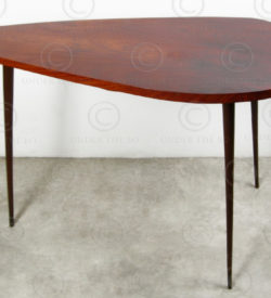 Art Deco Table FV125. Manufactured at Under the Bo workshop, Thailand.