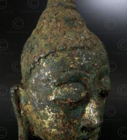 Ayuthaya Buddha head T340F. Central Siam (Thailand).