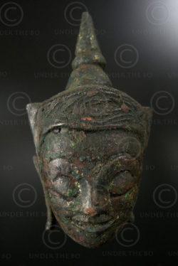 Ayuthaya Buddha head T340N. Central Siam (Thailand).