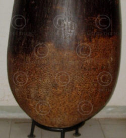 Palm vase BU1. Palm root container, Burma, new