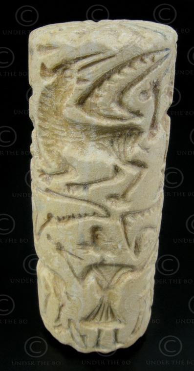 Bactrian seal SH38D. Margiana or Bactria (Afghanistan).