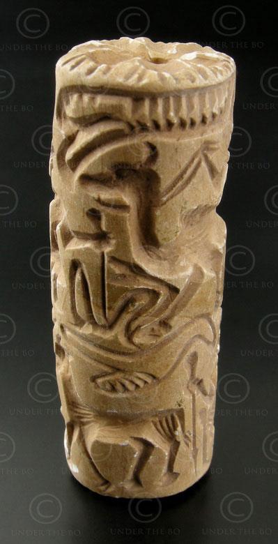 Bactrian seal AFG64C. Margiana or Bactria (Afghanistan).