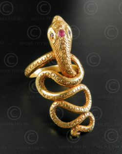 Bague serpent or R299. Nord de l'Inde.