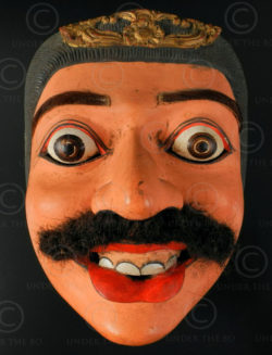 Bali mask BA2. Wayang topeng. Indonesia.