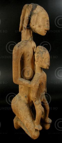 Dogon statue V1. Sanga village, Bomboo-Toro sub-group style, Mali