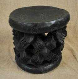 Bamileke stool N1A. Bamileke. Cameroon
