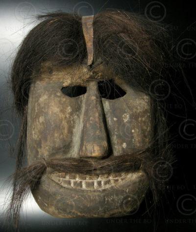 Bidayuh mask BID31. N-W Borneo, Indonesia-Malaysia
