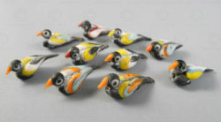 Birds glass paste BD250. Found in Farah province of Afghanistan, perhaps of Pers