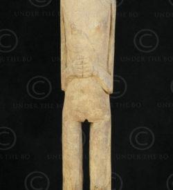 Borneo field protector statue BO185. Iban culture, Sarawak/West Kalimantan, Born