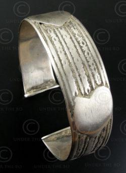 Bracelet argent indien B184. Rajastan, Ouest de l'Inde.