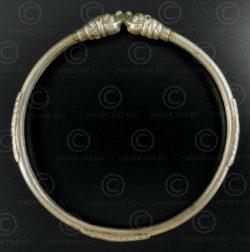 Bracelet indien argent B216. Inde de l'ouest.