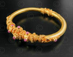 Bracelet or B194. Inde du sud.
