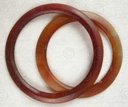 Bracelets agate Bactriane AFG73. Trouvés dans la région de Balkh de l'antique Ba