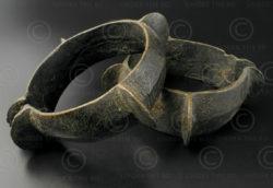 Bracelets bronze Nagaland B165. Minorité tribale du Nagaland incertaine, Inde du