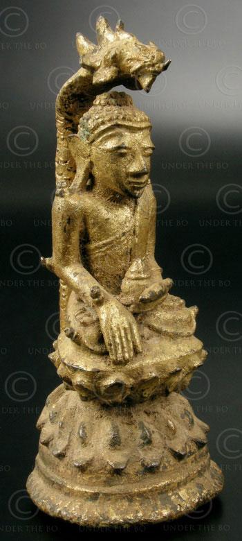 Burmese Buddha BU429, Shan style, Northern Burma.