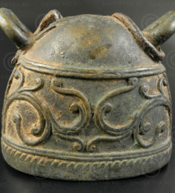 Burmese cattle bell BU537A. Burma.