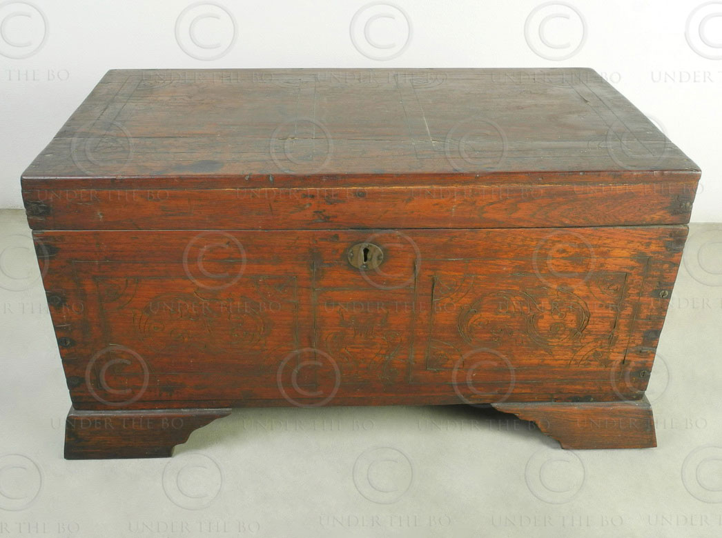 Burmese chest BU21, Mandalay, Burma.