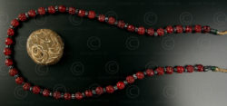 Burmese tribal beads BD108. North West Burma, Chin state.