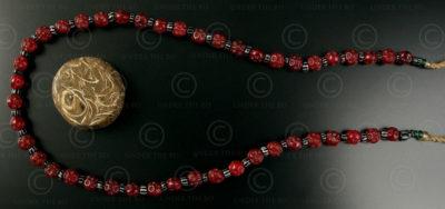 Burmese tribal beads BD108. North West Burma, Chin state.