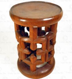 Cameroon style stool FV318. Under the Bo workshop