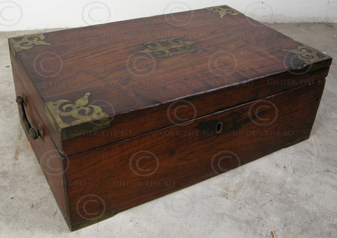 Cash box IN536, Chettiar cash box, Tamil Nadu.