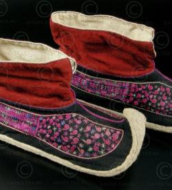 Chaussures Yao YA93. Groupe Yao Lantien, Laos ou Vietnam.