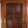 Chettinad door 08MT8. Chettinad, Southern India.
