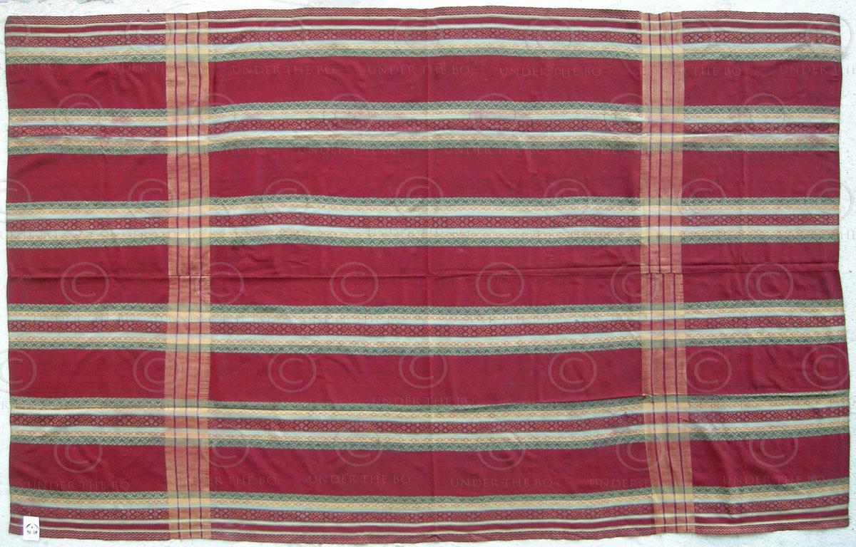 Chin shawl BU13. Zutong Haka-Chin group, Northern Chin state, Burma.