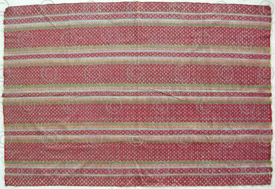 Chin shawl BU5B. Zahau Haka-Chin group, Northern Chin state, Burma.