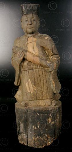 Chinese Taoist statue YA150A. Lantien Yao minority, Southern China.