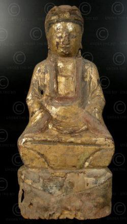 Chinese Taoist statue YA150L. Lantien Yao minority, Southern China.