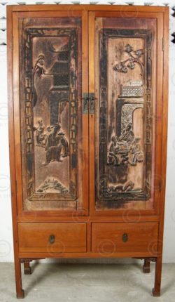 Chinese cabinet FVA1. Manufactured at Under the Bo workshop.