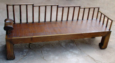 Chinese bench FV110, Manufactured at Under the Bo workshop, Thailand