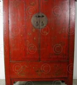 Chinese armoire BJ40B. Shanxi province, China.