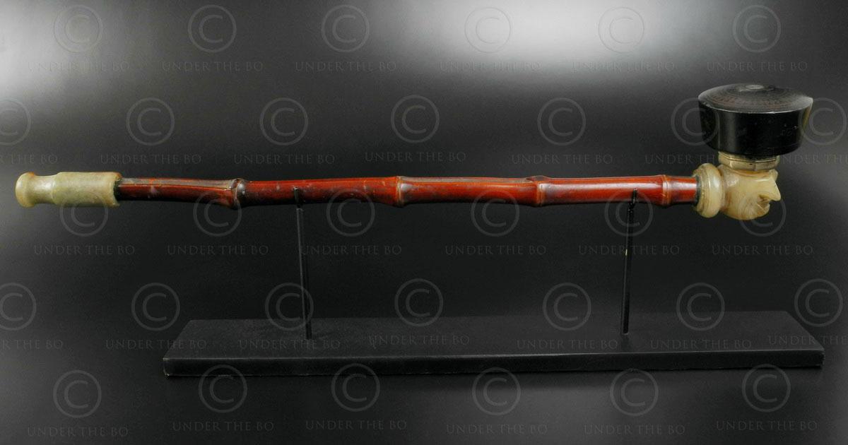 Chinese opium pipe C95. China.