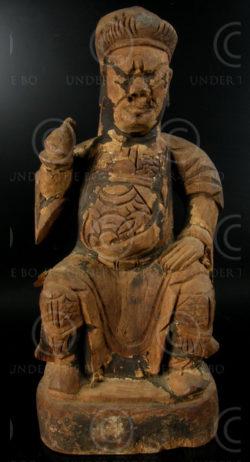 Chinese statue YA87A. Statue of Ancestor figure, Yao Lantien minority.