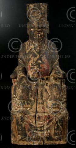 Chinese statue YA87F. Statue of Taoist ancestor, Lantien minority