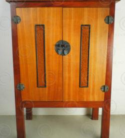 Chinese style cabinet FV117B. Design François Villaret, Under the Bo workshop, T